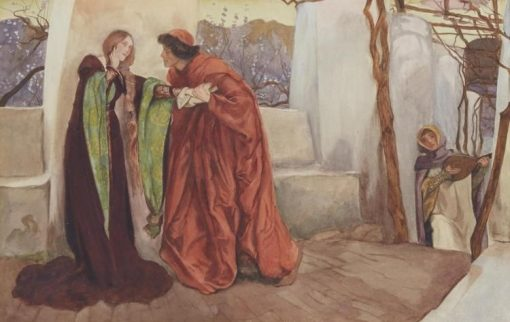 O Mistress Mine | Edwin Austin Abbey | Oil Painting