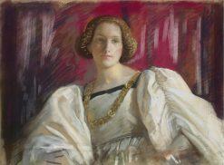 Desdemona | Edwin Austin Abbey | Oil Painting