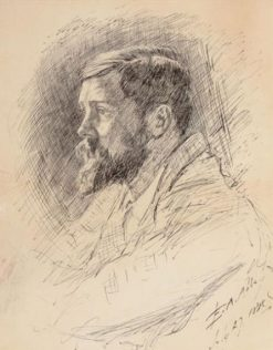 Portrait of Alfred Parsons