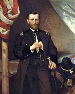 General Ulysses S. Grant in his Tent | Emanuel Gottlieb Leutze | Oil Painting