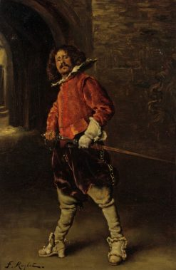 The Cavalier | Ferdinand Roybet | Oil Painting