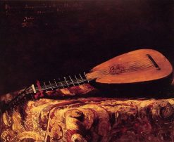 The Mandolin | Ferdinand Roybet | Oil Painting