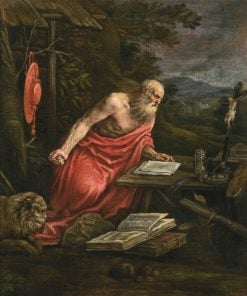 Saint Jerome | Francesco Bassano the Younger | Oil Painting