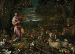 Orpheus Charming the Animals | Francesco Bassano the Younger | Oil Painting
