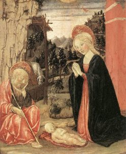 Nativity | Francesco di Giorgio Martini | Oil Painting