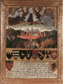 Madonna del Terremoto | Francesco di Giorgio Martini | Oil Painting