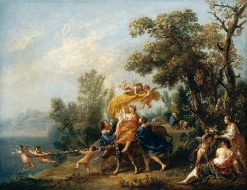 Rape of Europa   Francesco Zuccarelli   Oil Painting