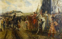The Surrender of Granada | Francisco Pradilla y Ortiz | Oil Painting