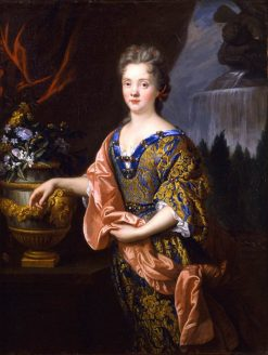 Portrait of an Elegant Woman   Francois de Troy   Oil Painting