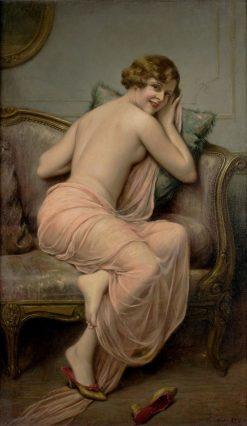 The Temptress | Francois Martin Kavel | Oil Painting