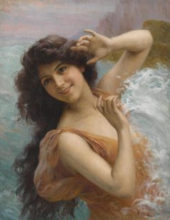 The Water Nymph | Francois Martin Kavel | Oil Painting