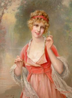 Through the Looking Glass | Francois Martin Kavel | Oil Painting