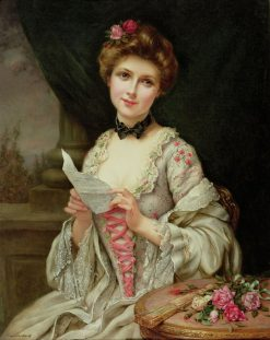The Love Letter | Francois Martin Kavel | Oil Painting