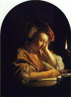 The Letter Writer | Frans van Mieris the Elder | Oil Painting