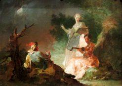 Pastoral Serenade   Franz Anton Maulbertsch   Oil Painting