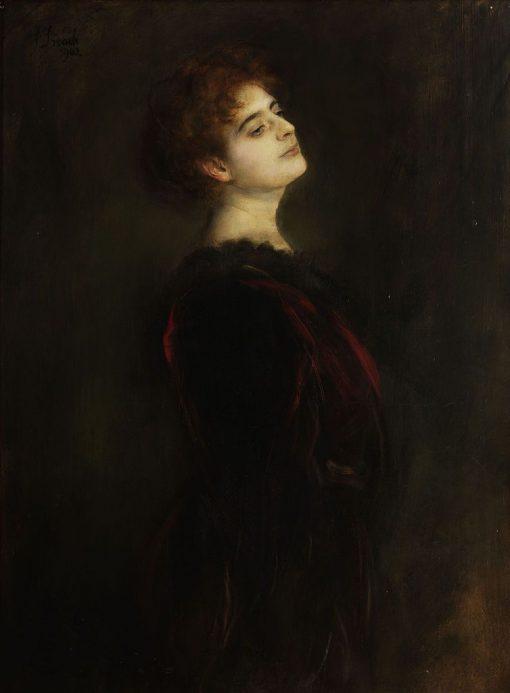 Elsa Mothwurf | Franz von Lenbach | Oil Painting