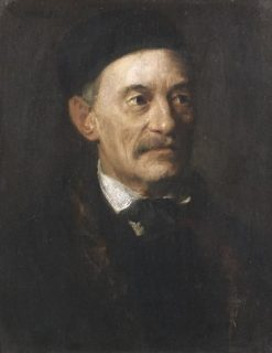 Portrait of the Munich Theologian Theodor E | Franz von Lenbach | Oil Painting