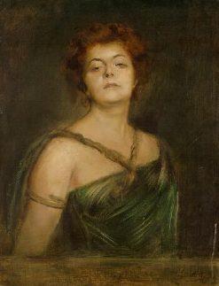 Portrait of a Woman | Franz von Lenbach | Oil Painting