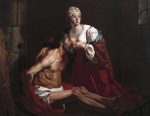 Caritas Romana   Gaspard de Crayer   Oil Painting