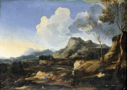 Italianate Landscape | Gaspard Dughet | Oil Painting