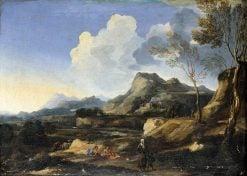 Italianate Landscape | Gaspard Dughet | Oil Painting