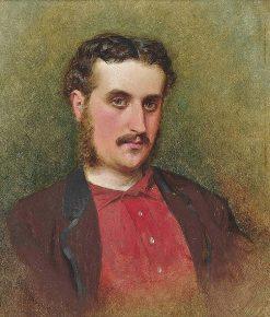 Self-portrait | George Elgar Hicks | Oil Painting