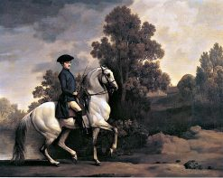 Lord Pigot of Patshull Riding a Spanish-Bred Charger | George Stubbs | Oil Painting