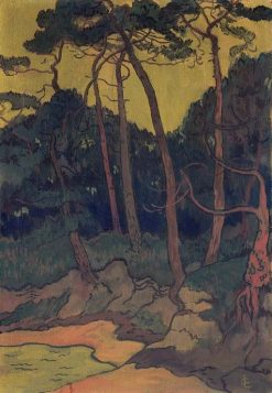 Pines on the Shore | Georges Lacombe | Oil Painting