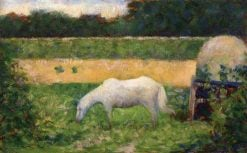 Landscape with Horse | Georges Seurat | Oil Painting