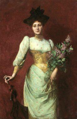 Portrait of Violet Schiff