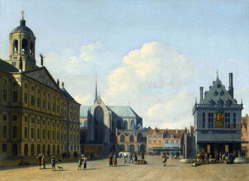 View of the Dam Square