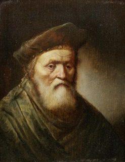 An Elderly Bearded Man | Gerrit Dou | Oil Painting