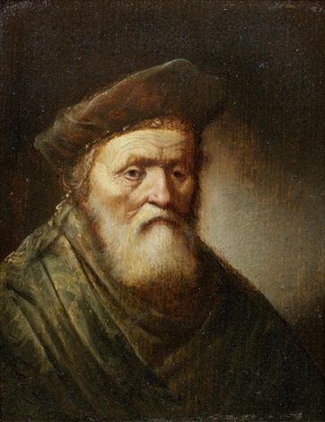 An Elderly Bearded Man | Gerrit Dou | Oil Painting