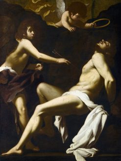 Saint Sebastian Succoured by the Angels | Giovanni Baglione | Oil Painting