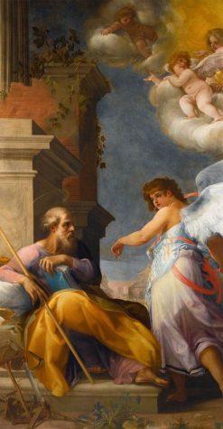 The Dream of Saint Joseph   Giovanni Baglione   Oil Painting