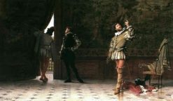 Preparing for the Duel | Giuseppe Castiglione | Oil Painting
