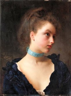 Delicate Beauty | Gustave Jean Jacquet | Oil Painting