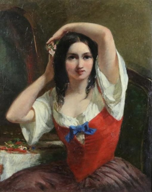 The Young Beauty   Haynes King   Oil Painting
