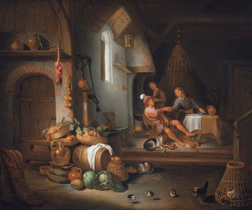 Esau Selling his Birthright | Hendrik Martensz. Sorgh | Oil Painting