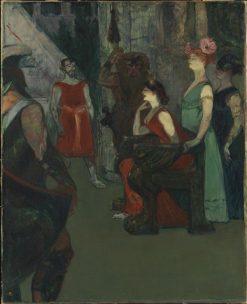 Messaline | Henri de Toulouse Lautrec | Oil Painting