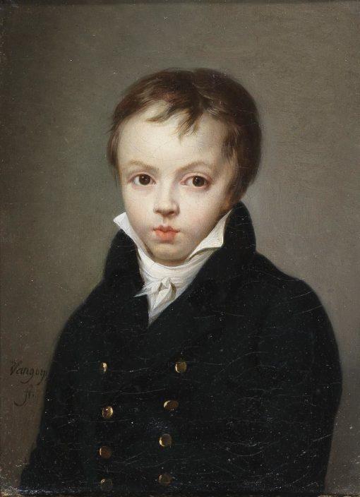 Portrait of Knaben(also known as Bildnis eines Knaben)   Henri Nicolas van Gorp   Oil Painting