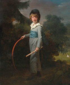 Henry John Lambert   Henri Pierre Danloux   Oil Painting