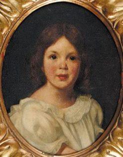 Portrait of Helen Martha Woods | Hermann Dudley Murphy | Oil Painting