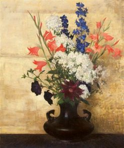 Flowers on Gold | Hermann Dudley Murphy | Oil Painting