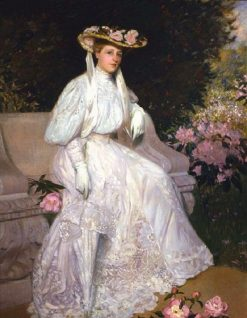 Mrs. Sarah Skinner | Hermann Dudley Murphy | Oil Painting