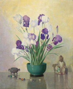 Iris | Hermann Dudley Murphy | Oil Painting
