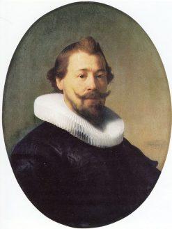 Portrait of a Man-1633   Herzog Anton Ulrich Museum   Oil Painting