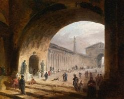 The Great Archway | Hubert Robert | Oil Painting