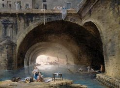 La Bievre | Hubert Robert | Oil Painting