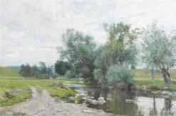 On the Green River | Hugh Bolton Jones | Oil Painting